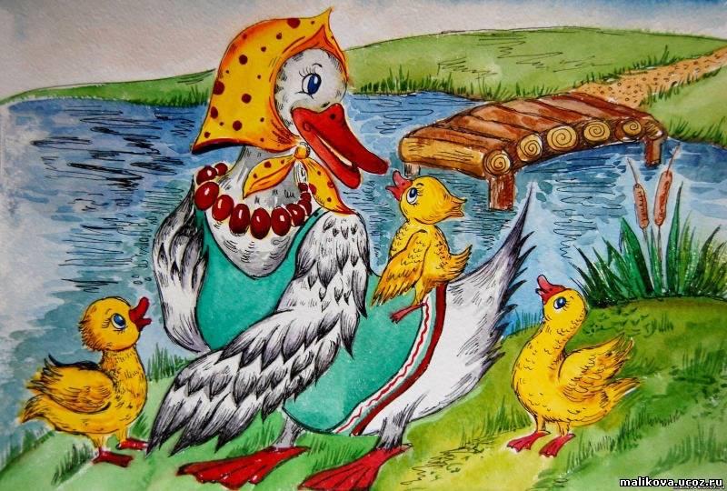 картинка утка из сказки семейной фотосессии студии